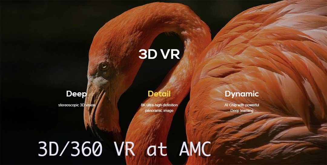3D/360 VR at AMC