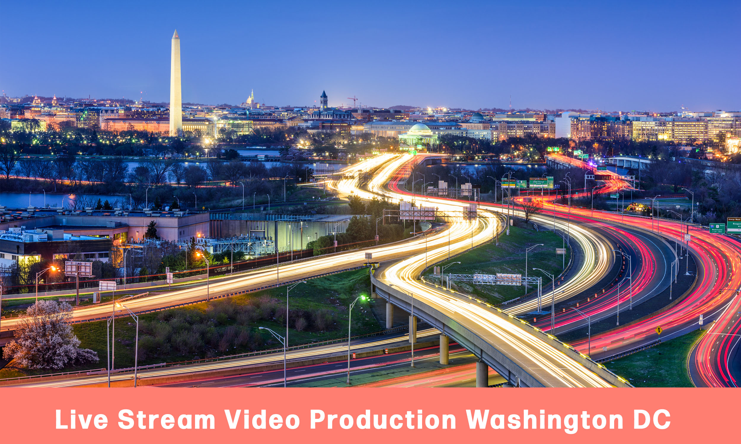 Live Stream Video Production Washington DC