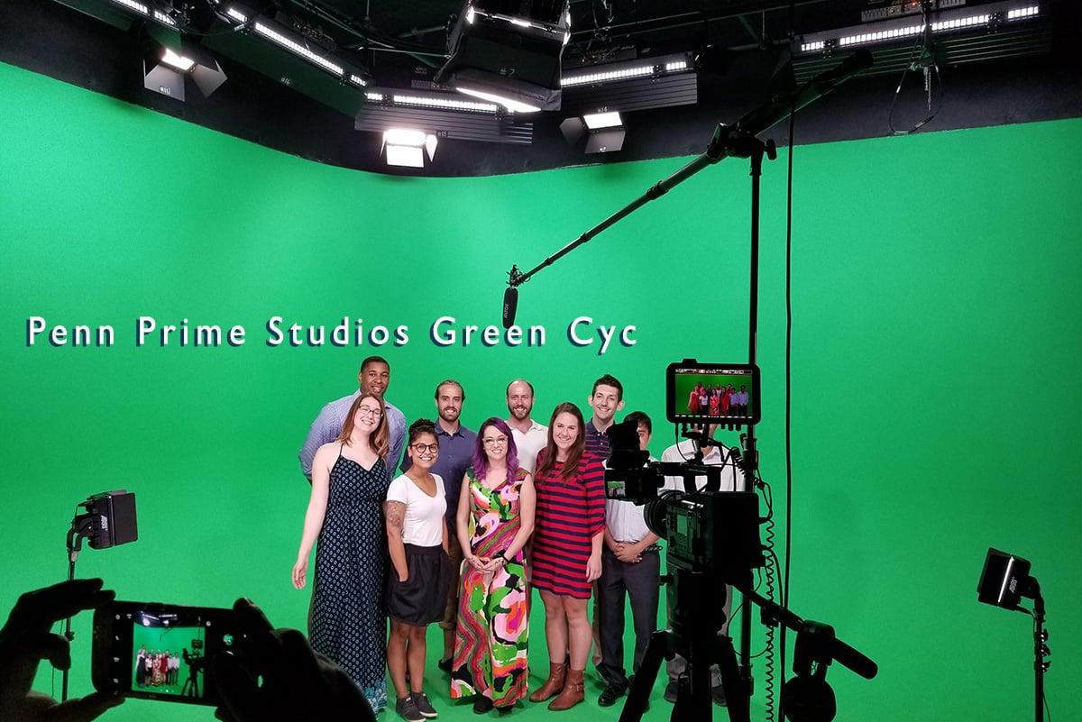 Penn Prime Studio 3 Green Cyc