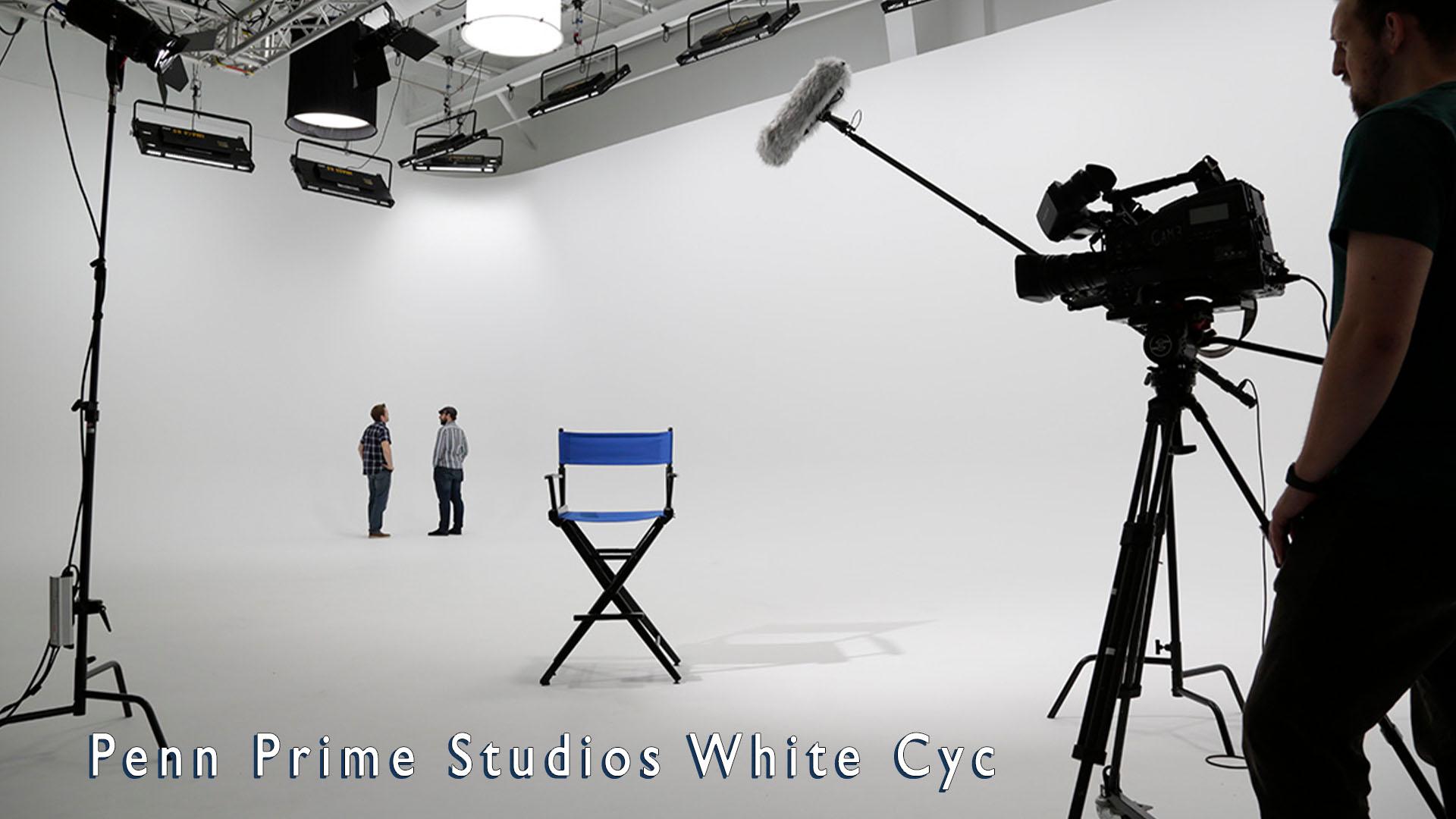 Penn Prime Studio White Cyc