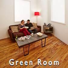 soho studios- green room