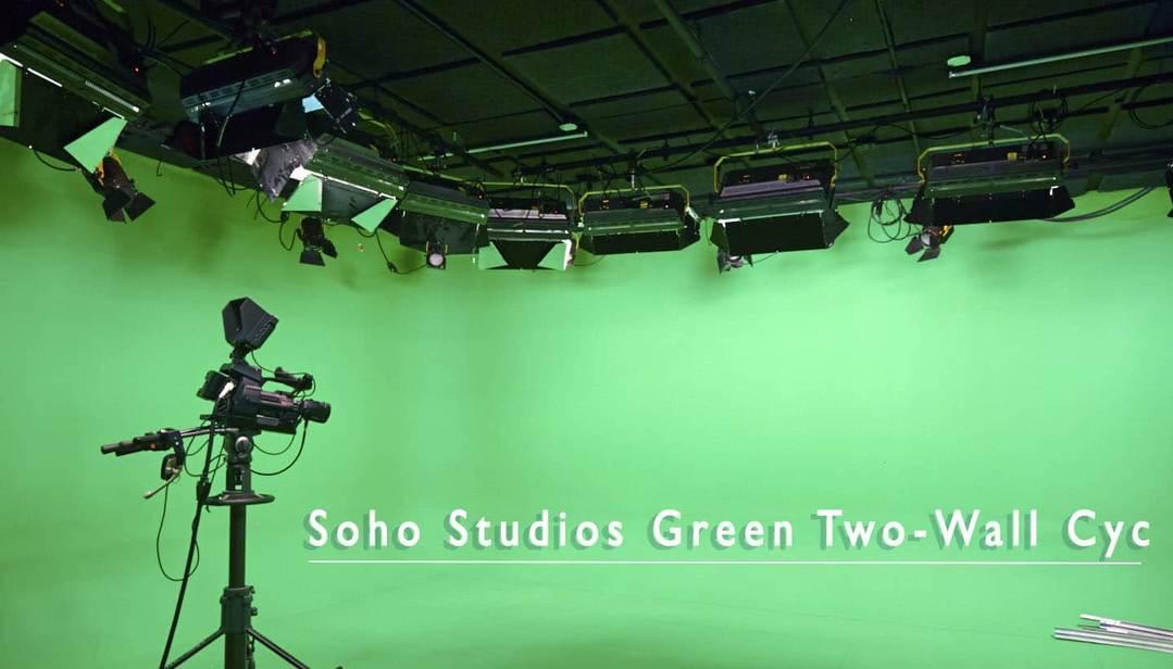 Soho Studios - 2 wall cyc