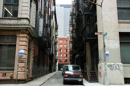 Cortlandt Alley Film Location