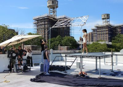 Rooftop Rental, film Shoot, Downtown Brooklyn