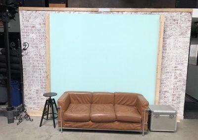 Various Backdrop setups.