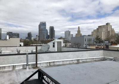 Rooftop with 8' by 8' Shoot Platform. - cityscape - clouds