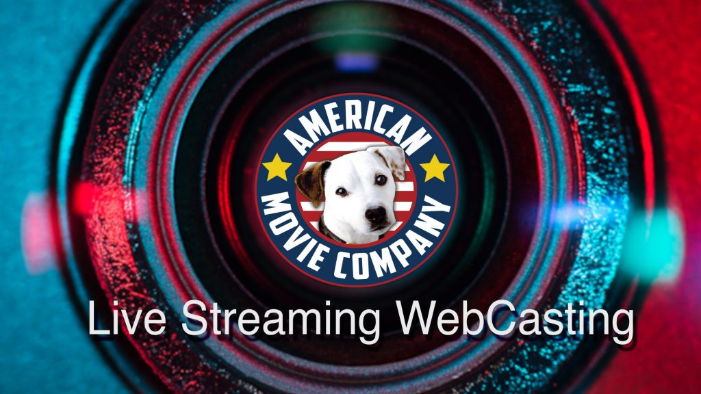 Logo American Movie Company Live Streaming video conference & Webcasting