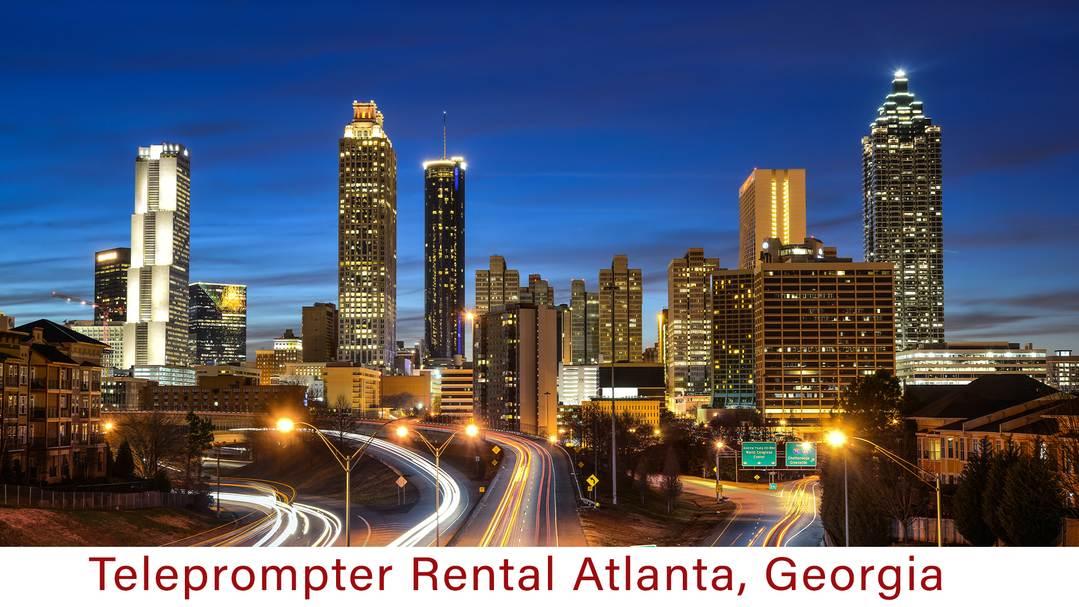 Teleprompter Rental Atlanta, Georgia