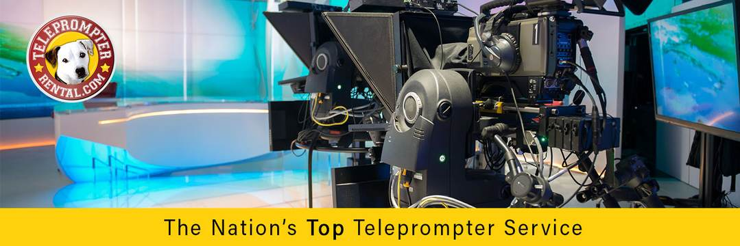 The Nation's Top Teleprompter Service