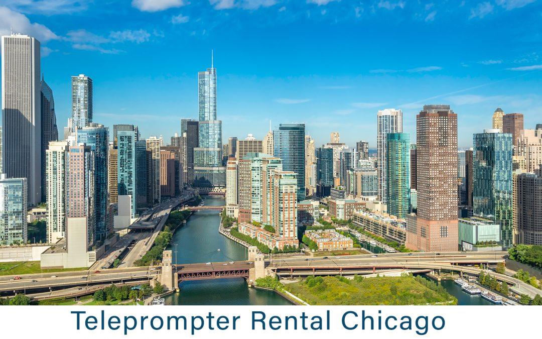 Teleprompter Rental Chicago