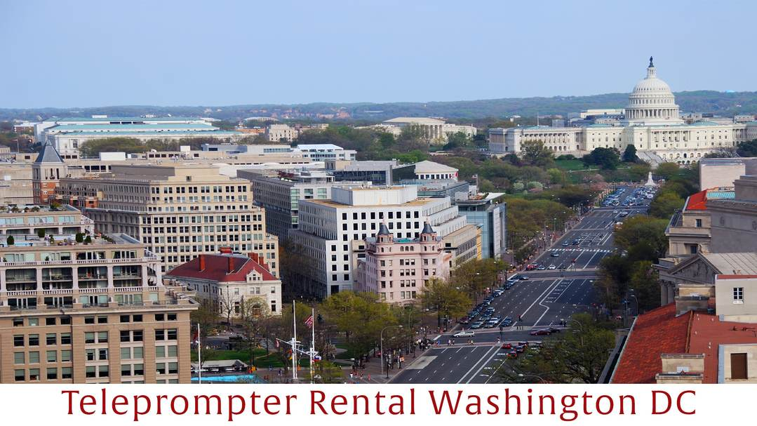 Washington DC Teleprompter Rental