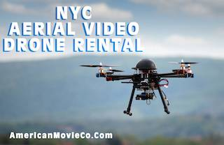 NYC Aerial Video Drone Rental