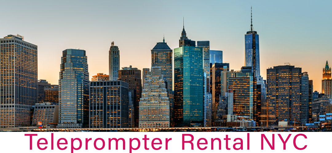 Teleprompter Rental New York City