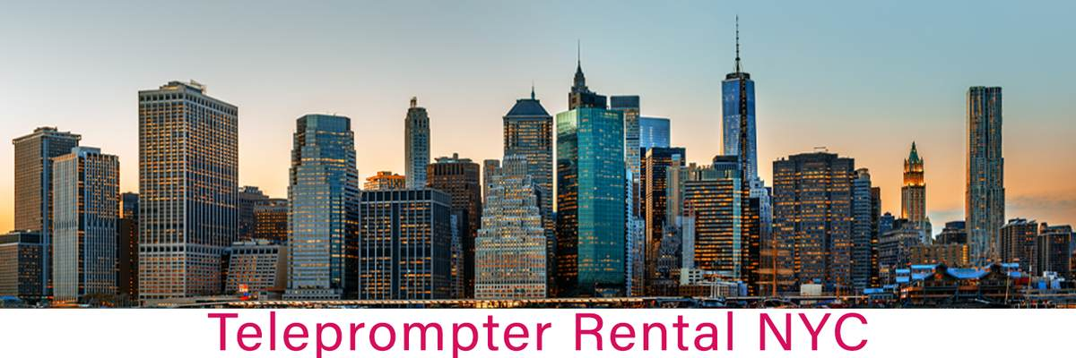 Teleprompter Rental NYC