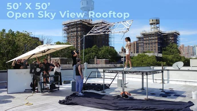 Open Sky View Rooftop