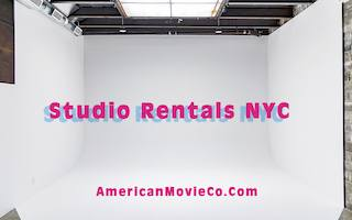 American Movie Company NYC Production Studio Rentals , White Cyc, Green Cyc Studio Rentals