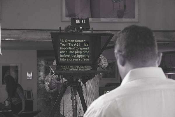 Teleprompter Operators - Teleprompter Rental Chicago