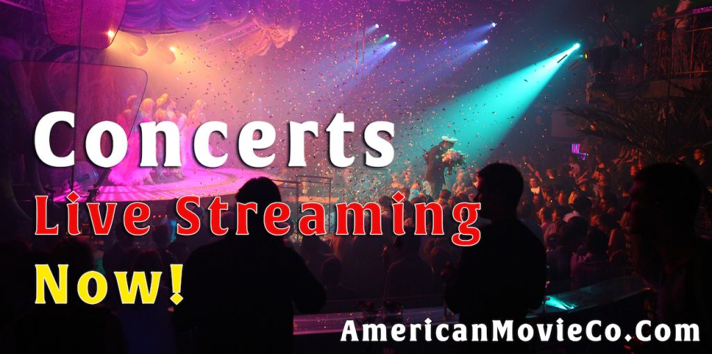 Concerts Live Streaming Now! spotlight on audience night club celebration