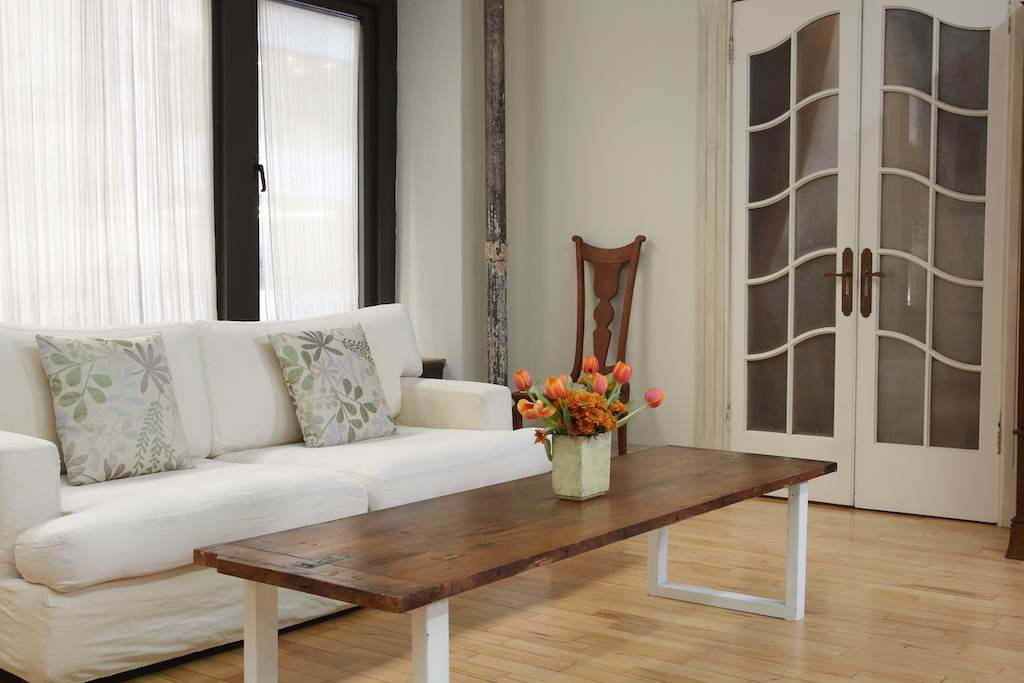 Living Room - couch, center table
