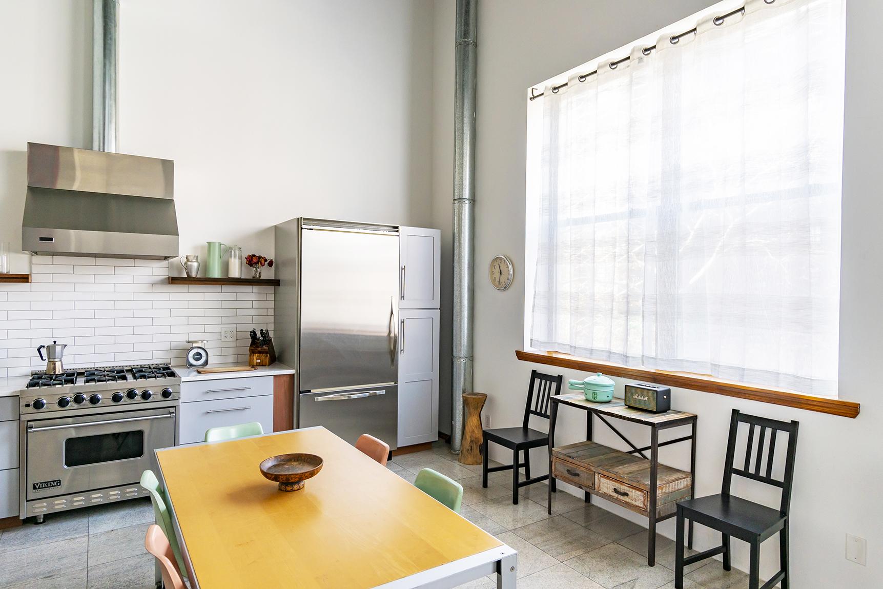 Studio Kitchen dining area