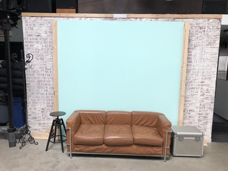 Couch area in Studio