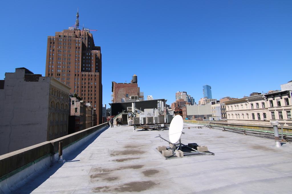 Bank building rooftop rental,