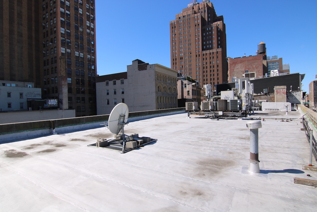 bank building rooftop rental, view nyc