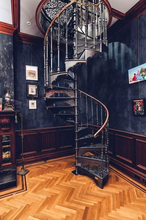 West Village Mansion - Stair Case