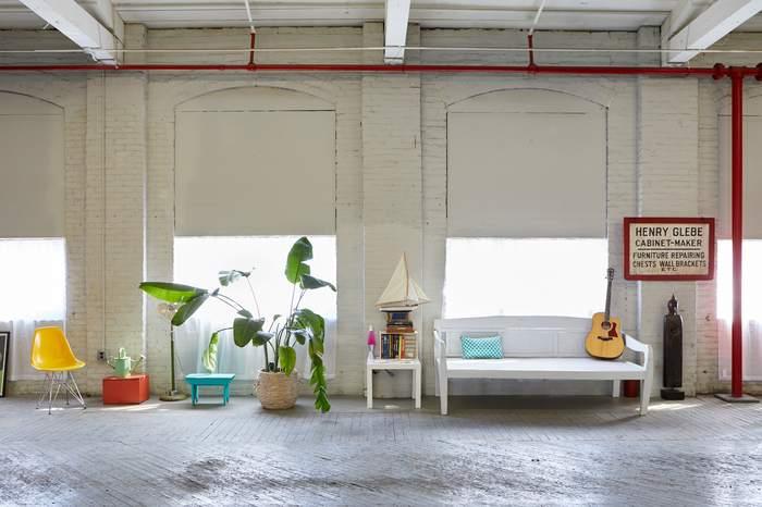 Zen Space Loft-Large Windows, Furniture and props