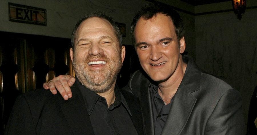 It's Tarantino's first film sans Harvey Weinstein