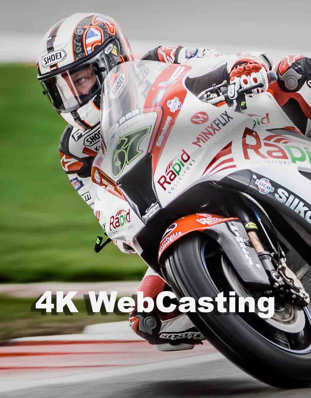 4K Live Streaming Video Production | 4K WebCasting 1