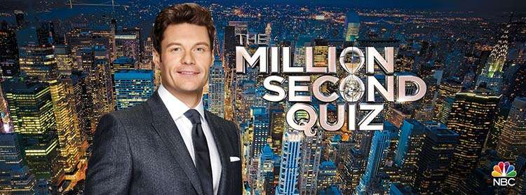 The Million Second Quiz Show hosted by Ryan Seacrest