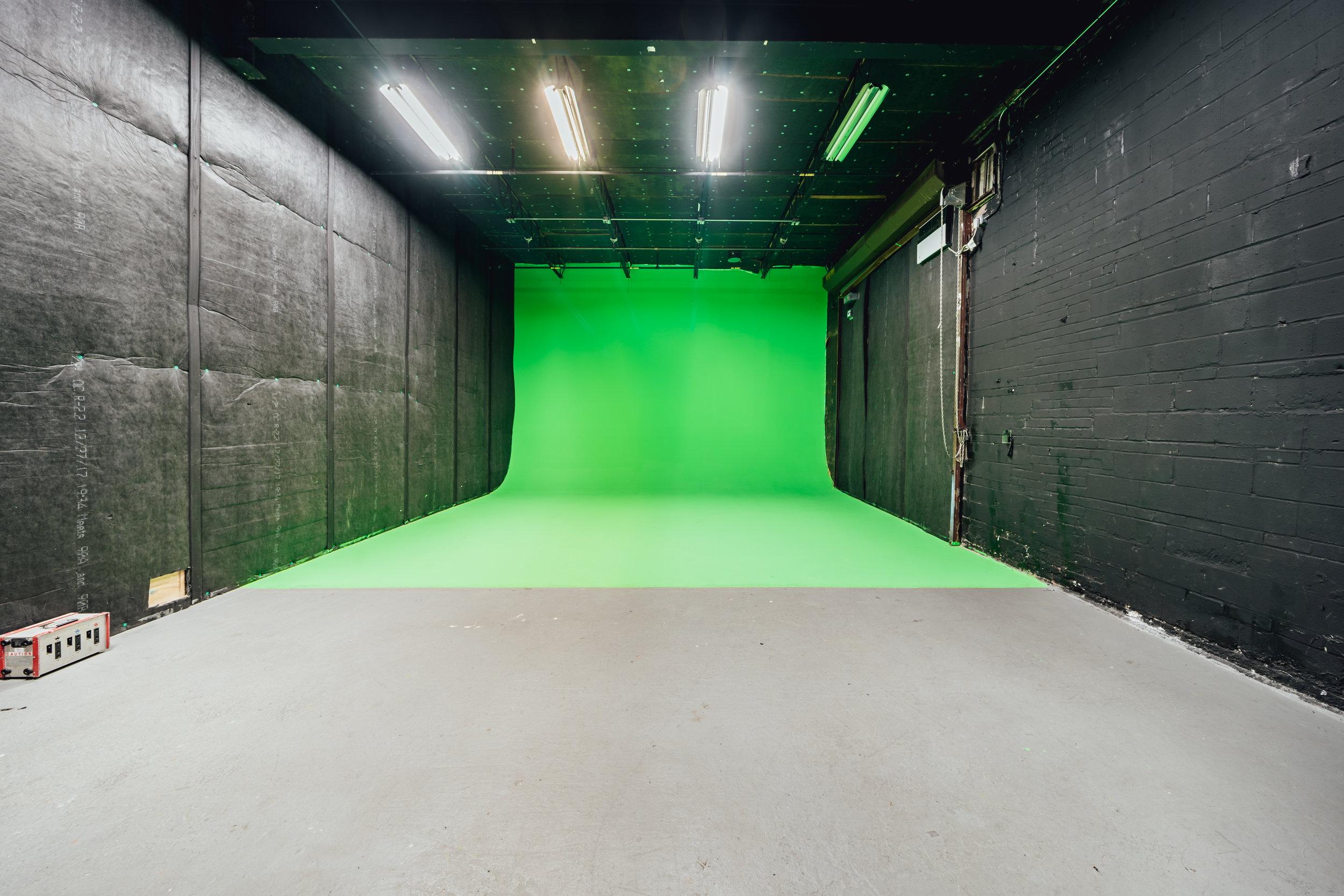 Studio 6: Green Cyc Stage - One Wall Cyc