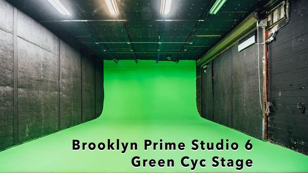 Brooklyn Prime Studio 6: Green screen sound Stage Rental from American Movie Co