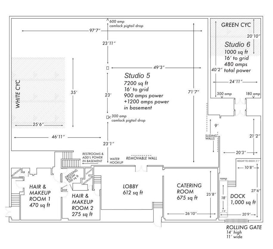 Brooklyn Prime Super Stage Floor Plan