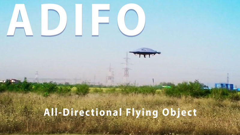 All-Directional Flying Object