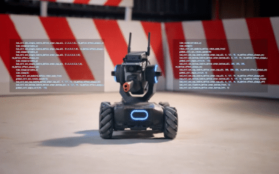 This Educational Robot Prefers Land to Air
