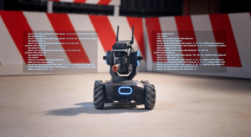 Educational robot, Robomarter S1 from DJI,