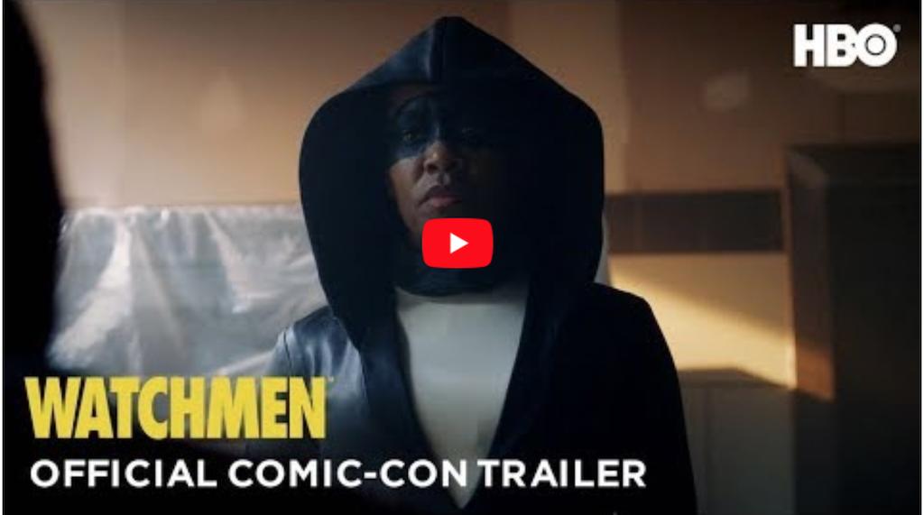 Screen Shot of Watchmen Trailer, Official Comic Con Trailer