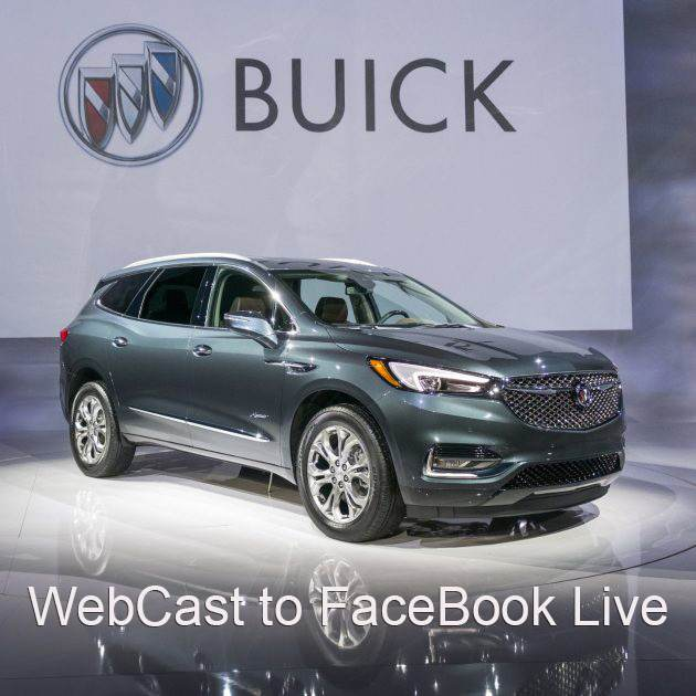 Event Production NYC- Buick Facebook Live Car Debut