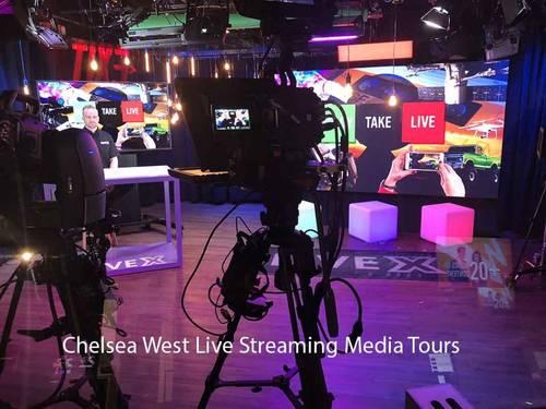 WebCasting / Live Streaming Media Studio at Hudson Yards