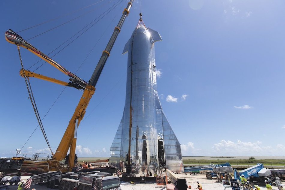The Unveiling Of The Space X Prototype Spaceship – Starship.