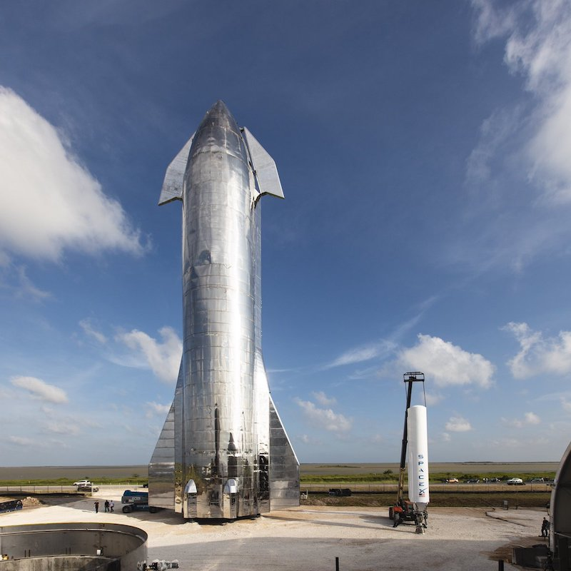 Space X's Starship Prototype