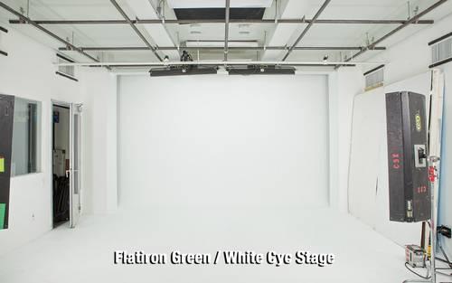 Flatiron Green/White Cyc Stage