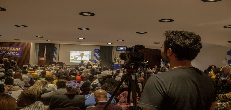 1199's Save Our Union - Well Attended Event - Live Streamed 1