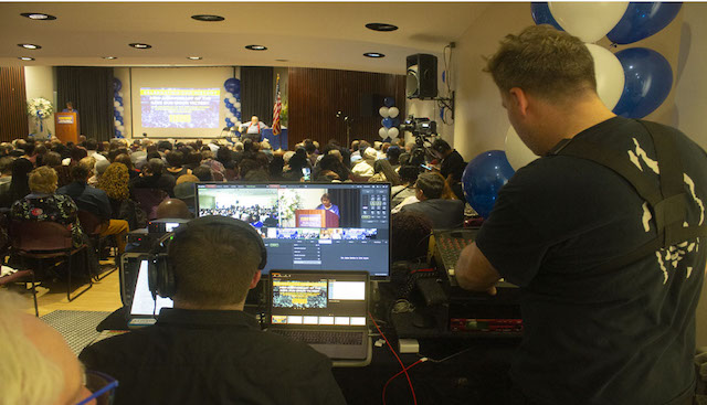 1199's Save Our Union - Well Attended Event - Live Streamed 3