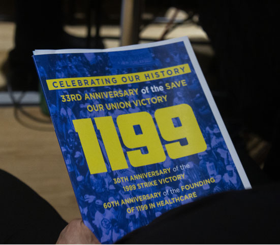1199's Save Our Union - Well Attended Event - Live Streamed 5
