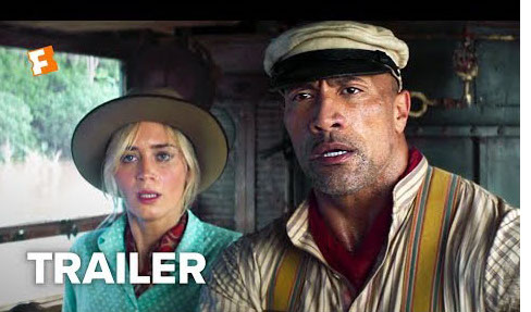 Jungle Cruise Trailer with Emily Blunt and Dwayne The Rock Johnson