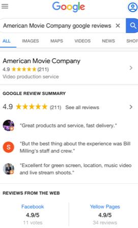 AMC Client Reviews 1
