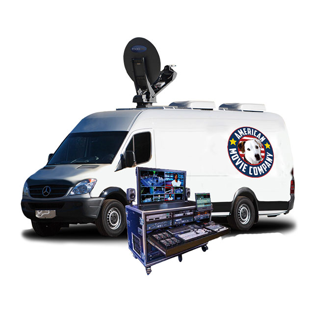 Satellite WebCasting Van,